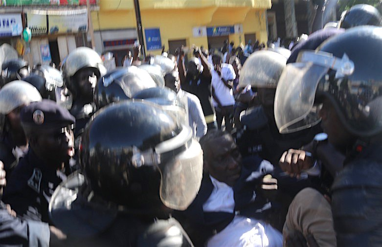 Sandaga : Arrestation des membres de l'opposition