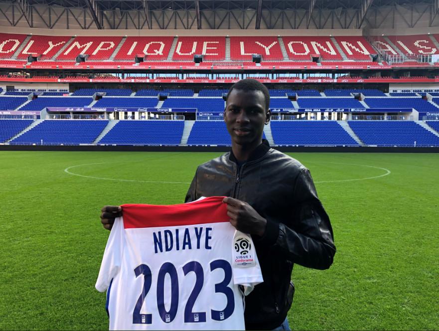 UN AN APRES SON ARRIVEE: Ousseynou Ndiaye prolonge avec Lyon