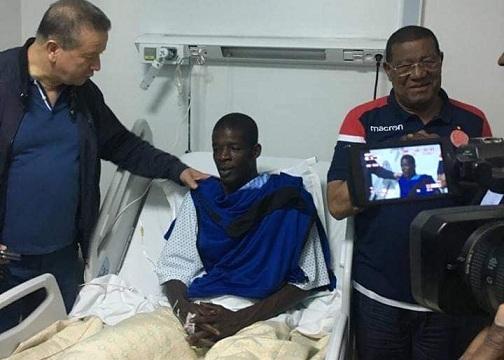 KHADIM NDIAYE APRES SON OPERATION: «je ne suis pas mort»