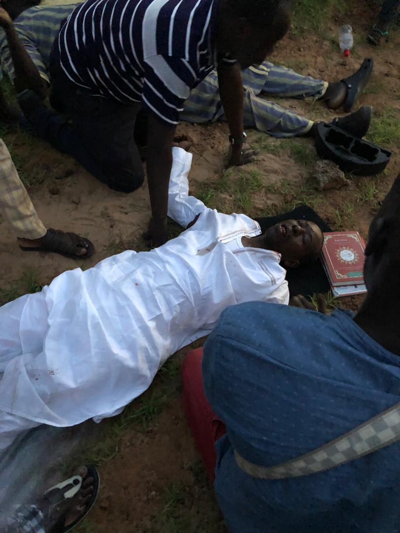 Accident sur la route Ila Touba: Cheikh Amar s'en sort avec une jambe fracturée et une blessure à l'épaule, il est interné à l'hôpital principal
