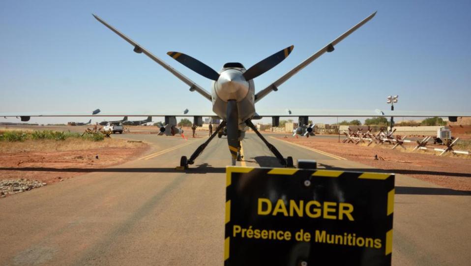 Au Mali, un drone français en opération frappe pour la première fois