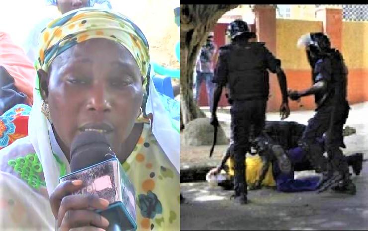 Exclusif - Fatick: La mère du jeune tué par les policiers brise le silence : «gnoko ray…guédj lagn ko yobou door ko… »