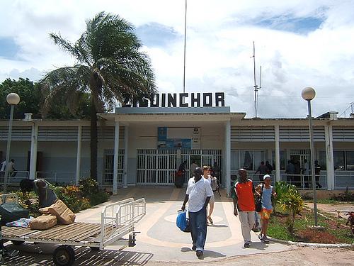 Incendie à l'aéroport de Ziguinchor