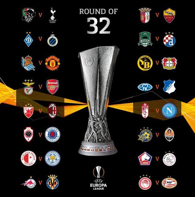 Tirage Ligue Europa : l'Ajax pour Lille, le programme complet des 16es !