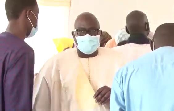 Présentation de condoléances : Babacar Fall BF-Trading service reçoit Serigne Bass Abdou Khadre