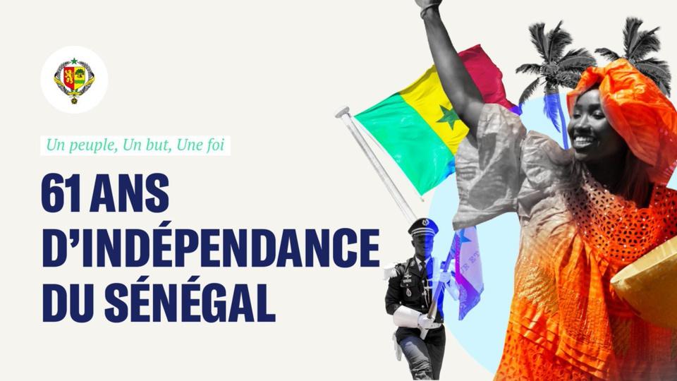 Le Sénégal a 61 ans