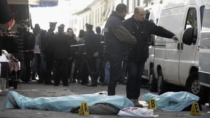 Bavure avec des relents racistes: une compatriote tuée par un gendarme italien