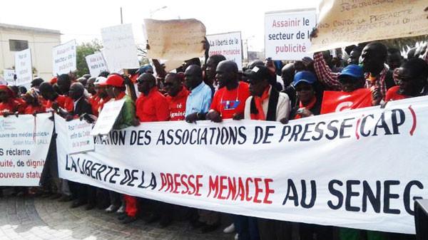 Sit-In des journlistes: La presse dénonce maux et mésaventures, Abdoulaye Diop se «défile»