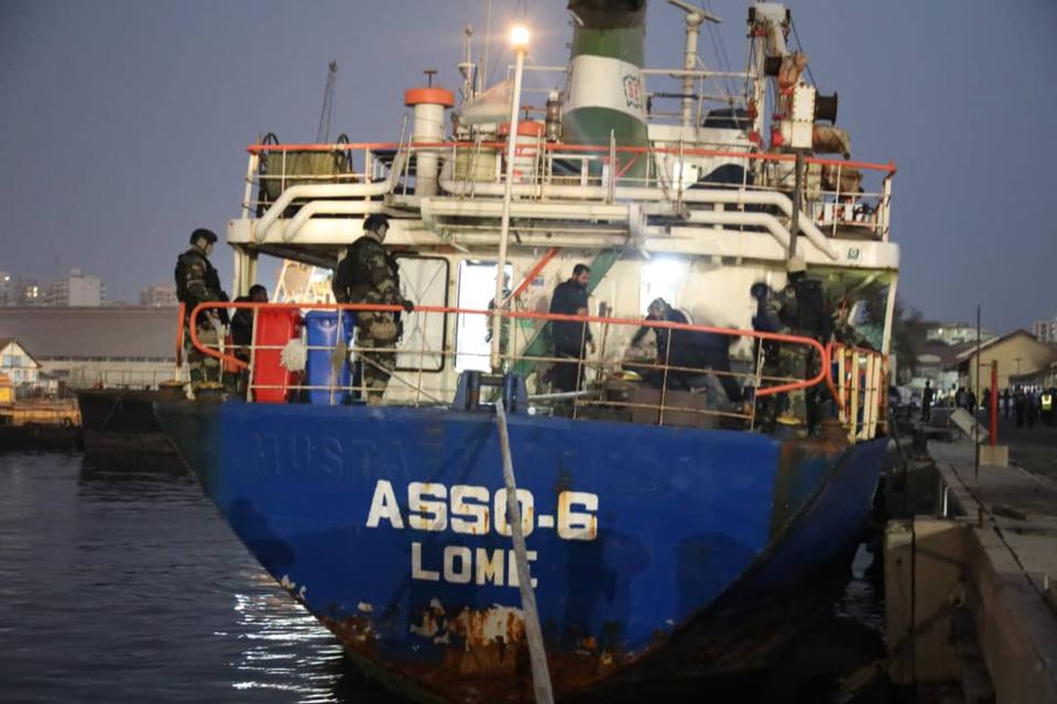 TRAFIC DE DROGUE  Un navire avec «une importante quantité de drogue» intercepté en mer par la Marine nationale