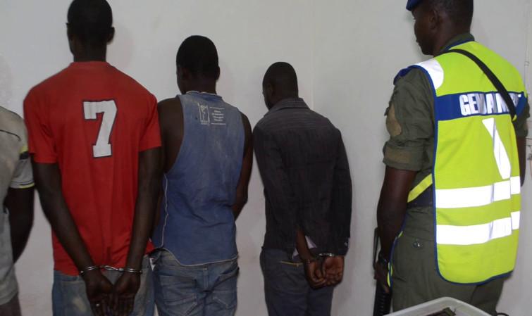 OPÉRATION COUP DE POING A SALY, TOUBA ET DAKAR: Quatre cambrioleurs en série et un agresseur armé de pistolet arrêtés