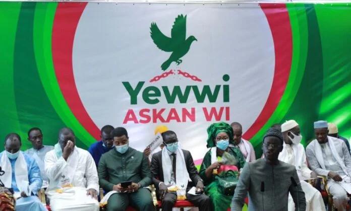 "Coalition ""Yewwi Askan Wi"": réunion cruciale de la conférence des leaders aujourd'hui"