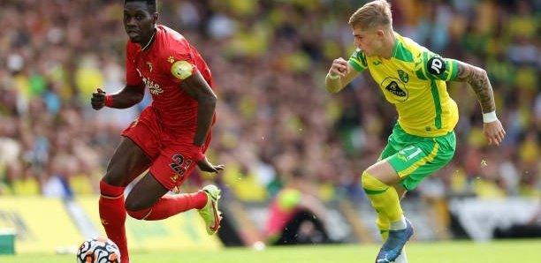 Premier League : Ismaila Sarr porte Watford avec un doublé