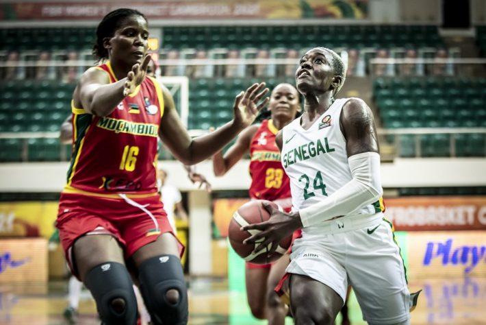QUART DE FINALE AFROBASKET FÉMININ 2021  Le Sénégal s'offre le Mozambique et une demi-finale face au Nigeria