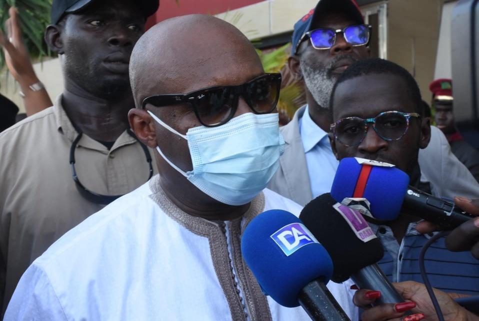 Barthélemy Dias investi candidat de Yewwi Askan Wi pour la ville de Dakar «S'il y avait un meilleur profil, je le soutiendrais sans rechigner»