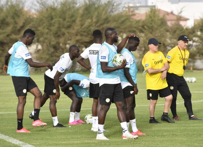 SENEGAL-NAMIBIE Aliou Cissé fait l'état des lieux avant le match