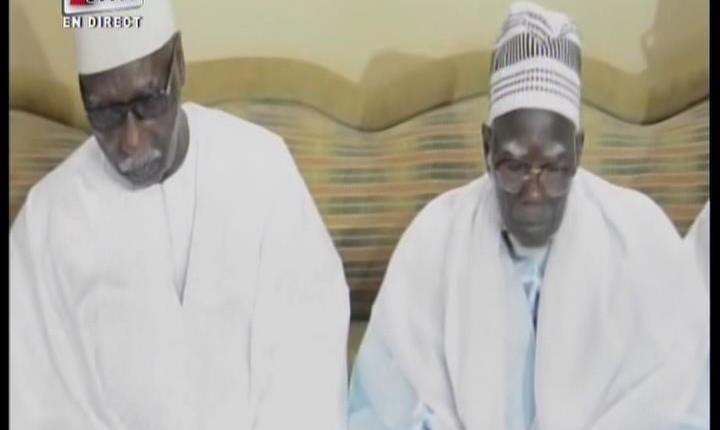 PRESENTATION DE CONDOLEANCES DU KHALIFE DES TIDIANES A TOUBA: Serigne Mbaye Sy Mansour fait une allocution historique