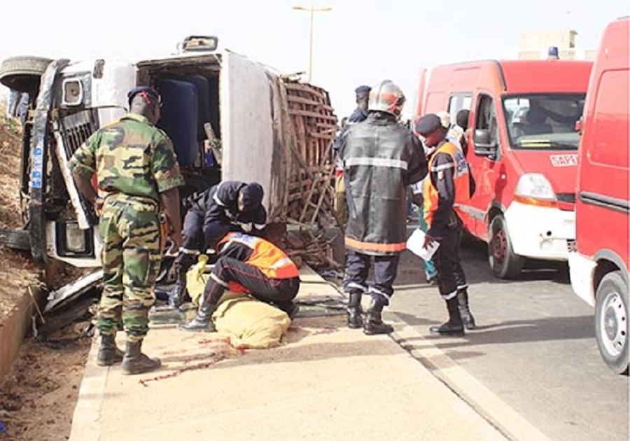 Un accident sur la route de Touba: 5 morts et 20 de blessées graves