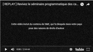 Insolide:Youssou Ndour bloque l'integralité du discour d'Idrissa seck à Saly sur youtube pour l'instant