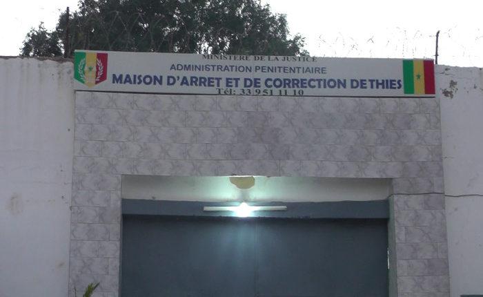 Maison d'Arrêt de Thies: Deux prisonniers surpris en pleins ébats