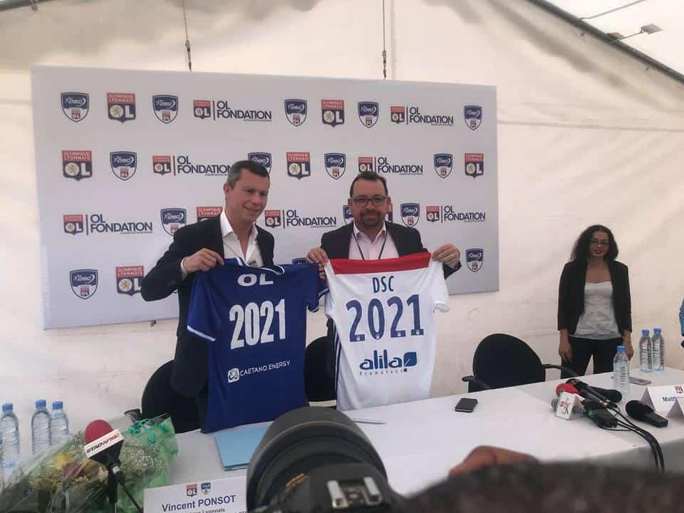 PARTENARIAT: Lyon renouvelle sa confiance à Dakar Sacré-Cœur jusqu'en 2021