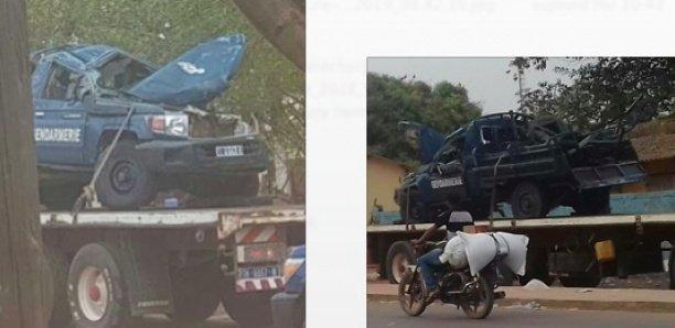 Sédhiou : Quatre gendarmes tués et dix blessés dans un accident