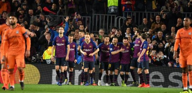 LdC : Barça 5-1 Lyon (OL éliminé)