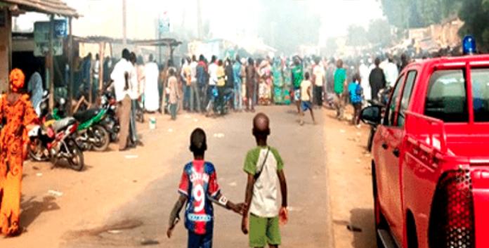 KOUNGHEUL : Plusieurs dizaines de millions de F Cfa emportés par un violent incendie dans un magasin de produits alimentaires