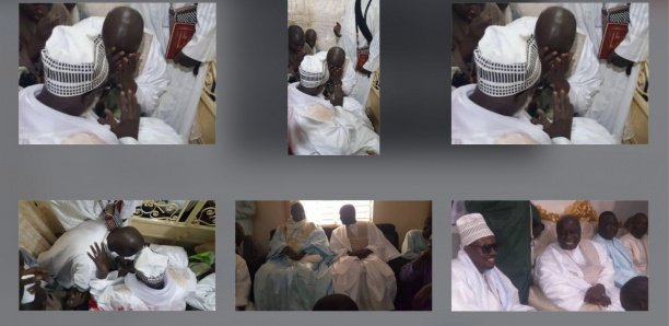 [Photos] Touba : Idy craque devant Serigne Mountakha