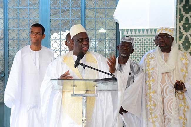 Tabaski : Macky Sall n'ira pas prier, il priera chez lui