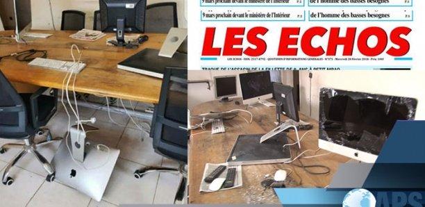 """Saccage du siège de """"Les Echos'' : une """"agression ignoble'' (CDEPS)"""