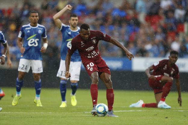 DU FC METZ A STRASBOURG: Habib Diallo, l'attaquant qui a conquis l'Alsace et la Lorraine