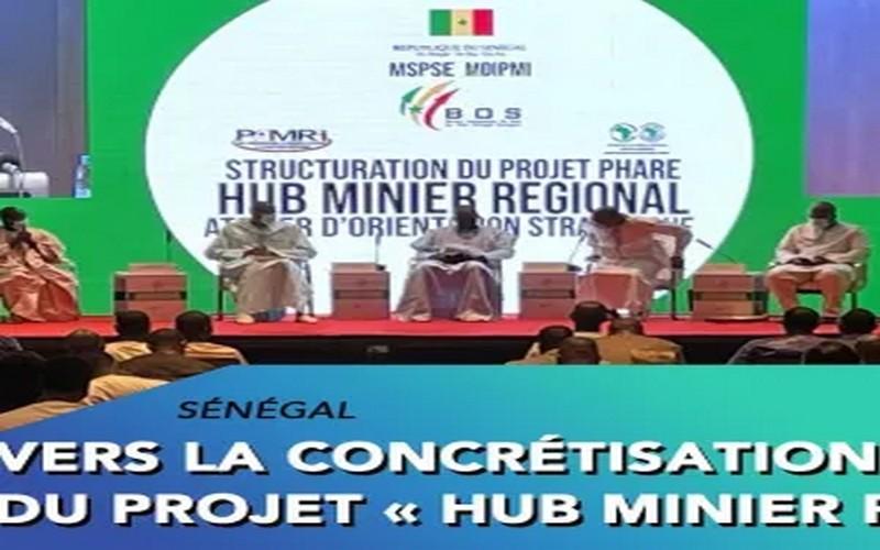 POUR UN MARCHE SOUS-REGIONAL DE 33 MILLIARDS DE DOLLARS Le Hub minier permettra au Sénégal de produire 50% des besoins des opérateurs