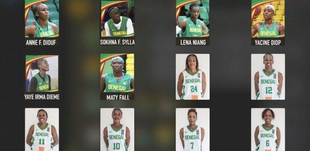 Afrobasket-2021 : À la découverte des 12 Filles de Moustapha Gaye