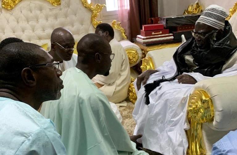 OUSMANE SONKO SUR LA VISITE DE YEWWI ASKAN WI A TOUBA «Tant que nous restons à l'écoute de nos chefs religieux, il y aura moins de problèmes»