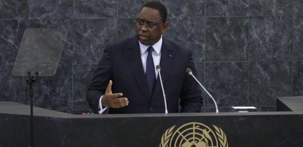 AG de l'Onu : Le discours de Macky Sall