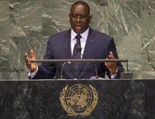 MACKY SALL LORS DE LA 76E SESSION DE L'ASSEMBLÉE GÉNÉRALE DE L'ONU «Le chacun pour soi ne nous sortira pas de la pandémie… personne ne sera à l'abri si le virus circule quelque part dans le monde»