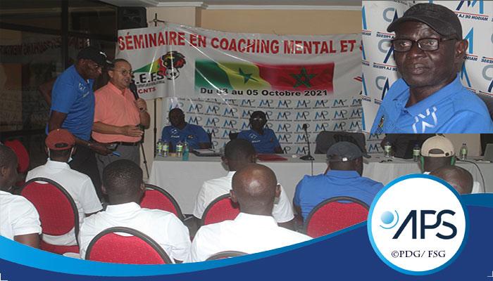 SEMINAIRE DE FORMATION EN COACHING MENTAL  63 entraineurs sénégalais ont été formés par le président de l'Académie marocaine de coaching mental et sportif