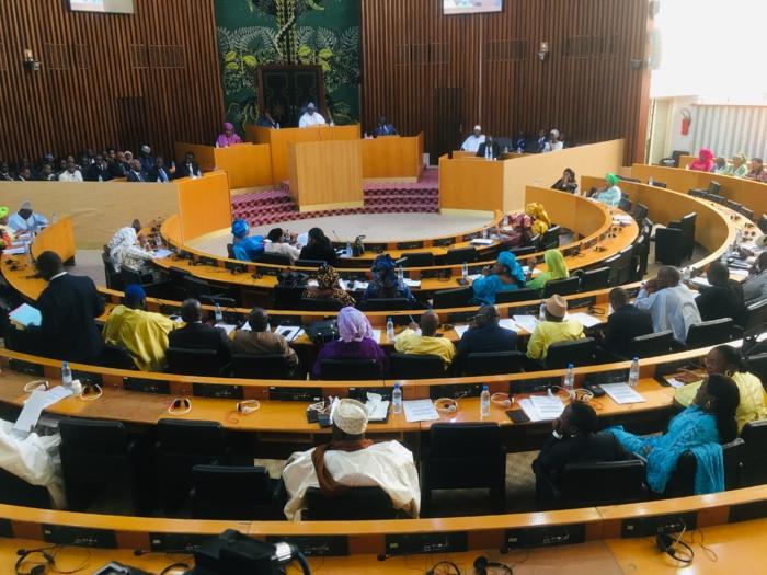 Ouverture session unique assemblée