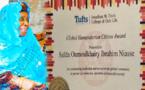 PRIX GLOBAL HUMATIARIAN CITIZEN AWARD: Sayda Oumoulkhairy Niasse, fille de Baye Niasse distinguée par une université américaine