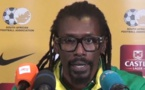 Aliou Cissé en conférence de presse d'avant-match