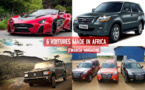L'AFRIQUE CONSTRUIT SES PROPRES VEHICULES: VOICI LES 6 VOITURES MADE IN AFRICA