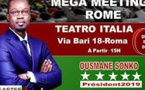 PASTEF ITALY ROMA LAZIO PRET POUR LA VISITE DE OUSMANE SONKO LE 2 DEC VIA BARI N18 ROME