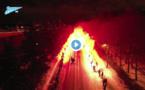 VIDEO : l'incroyable arrivée du car du Zénith !