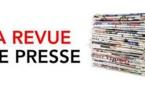 Revue de Presse  13 Mars 2019