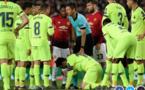 Les images impressionnantes de Messi en sang après une charge de Smalling