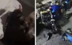 Incroyable : voici les images violentes de l'accident de Dj Arafat