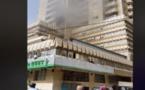 Incendie à l'immeuble Faycal : Trois personnes évacuées à l'hôpital