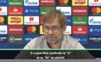 12e JOURNEE - Klopp répond à Guardiola : ''Mané n'est pas un plongeur !''
