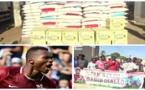 Vidéo/ L'international de foot Habib Diallo offre du riz et de l'huile à 300 familles de Gouye Sombel et environs à Thiès