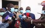 Thies Covid-19: Abdoulaye Diouf Sarr en visite au centre de traitement des pandémies à la base militaire Thiès